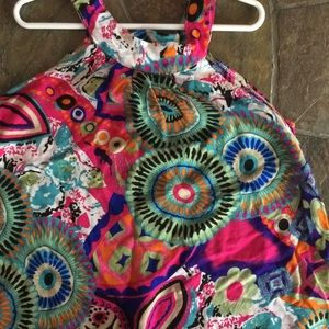 Other - Toddler girls size 4 tunic dress multicolor
